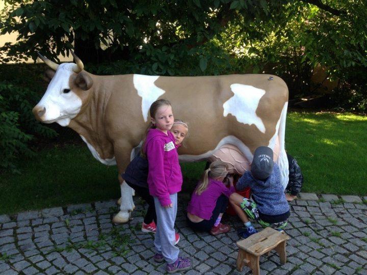 Výlet na farmu Moulisových