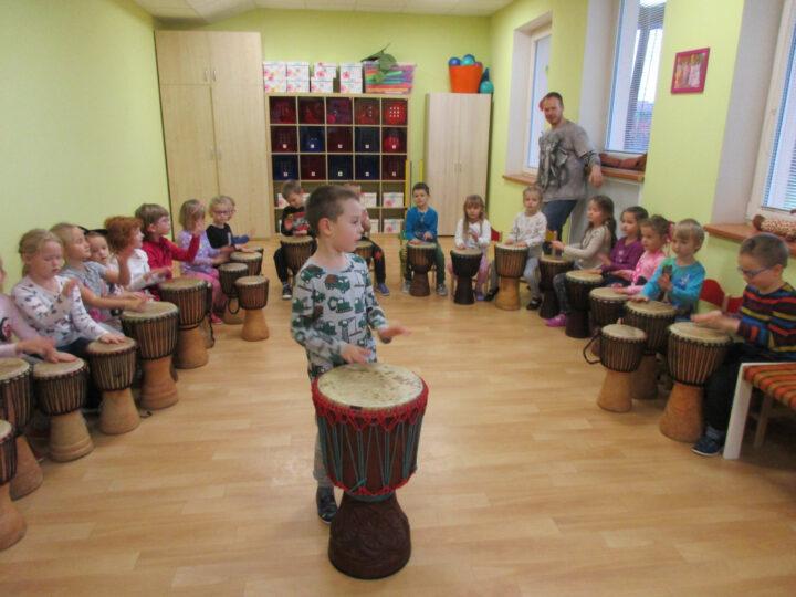 Bubnování v MŠ