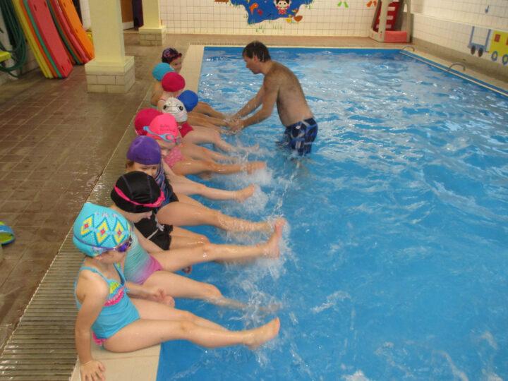 9. a 10. plavání Broučci