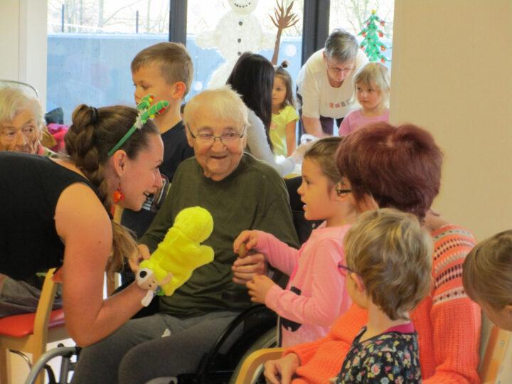 Návštěva domova pro seniory