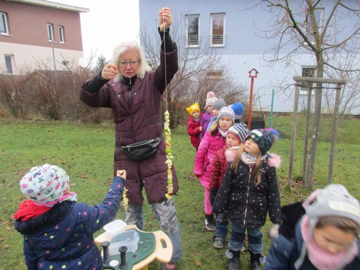 Advent na zahradě školky Broučci